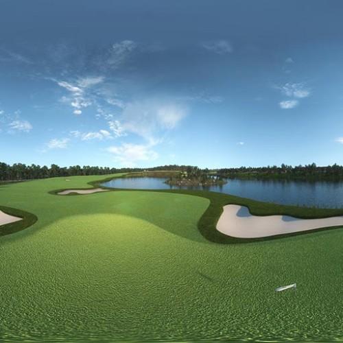 golf rendering for construction album